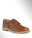 컬러콜라(COLOR COLLA) WING TIP BOX BLUCHER