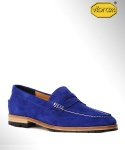 컬러콜라(COLOR COLLA) COW SUEDE PENNY LOAFER