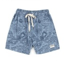 UTP 69 untage signature string shorts_denim