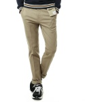 CIGARETTE POCKET SLIM PANTS BEIGE