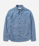 SELVEDGE CHAMBRAY 2PK SHIRTS BLUE