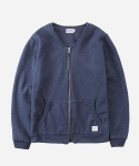 SWEAT ZIPUP CARDIGAN NAVY