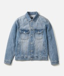 페이퍼리즘 LIGHT WASHED TRUCKER JACKET