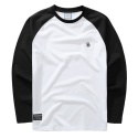 2014 BASIC COLOR MIX RAGLAN(WHITE)