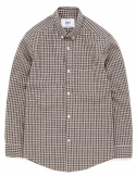 Brown check shirts