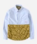 MIXED CAMO 1PK SHIRTS BEIGE