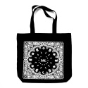 바알(BAAL) BAAL CROSS STAR PAISLEY TOTE BAG