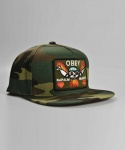 NAPALM SNAPBACK FILED CAMO