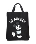 WHITE BLANK GO MICKEY SHOULDER BAG(DARK GREY)