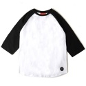 BASIC RAGLAN TEE (BLACK)