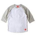 BASIC RAGLAN TEE (GREY)