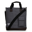 AZ POCKET TOTE BAG (GREY)