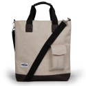 AZ POCKET TOTE BAG (IVORY)