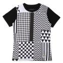 UTT 13 complex pattern t-shirts_white(남여공용)