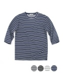 3/4 Middle Stripe Tee