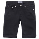 모디파이드(modified) M0332 1/2 cotton black pants (black)
