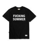 Fucking summer short sleeve black