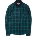 M0336 cotton tartan shirt