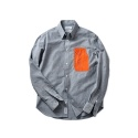 레이어 유니온(LAYER UNION) NYLON POCKET SHIRTS GREY