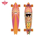 38 HENDRIX AXIS BOLD X ORANGE/PINK X COLLABO LONGBOARD COMPLETE