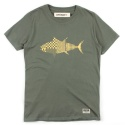 UTT 12 complex fishing t-shirts_khaki(남여공용)