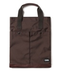 티레벨(T-LEVEL) Hepta Tote Bag Brown