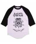 POSSESSED BASEBALL TEE WHITE/BLACK
