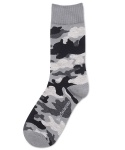 삭스더랭귀지(SOCKS THE LANGUAGE) camouflage-grey