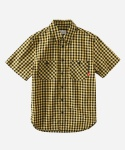S/S GINGHAM CHECK 2PK SHIRTS YELLOW