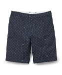 Johnson Short Copyright Print Deep Night / Broken White