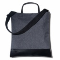AWSOM TOTE BAG_BLACK MELANGE