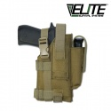 Tactical Belt Holster Right Hand Coyote Tan - 택티컬 벨트 홀스터 오른손 잡이용 코요테