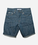 SELVEDGE DENIM SHORT 002 _ SEAGREEN