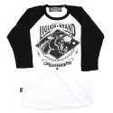 리쿼브랜드(LIQUOR BRAND) PANTHER WHITE RAGLAN 3/4 MEN