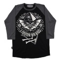 리쿼브랜드(LIQUOR BRAND) BAT RAGLAN 3/4 MEN