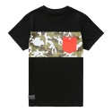 그루브라임 CAMO POCKET TEE(BLACK)