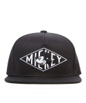 [Disney X Stereo] MICKEY DIAMOND SNAPBACK (Black)
