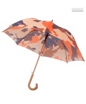 NEWSBOY CAMO UMBRELLA ORANGE