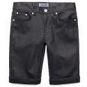 M0339 1/2 1/2 black coating pants