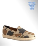 컬러콜라(COLOR COLLA) CAMOUFLAGE ESPADRILLES