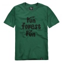 파퓰러너드(POPULARNERD) Forrest t-shirts green