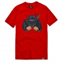 파퓰러너드(POPULARNERD) Ninza t-shirts red