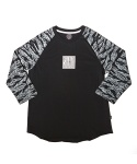 STEREO RAGLAN SHIRT (Tigercamo Black)