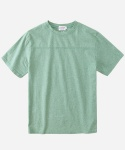 S/S MELANGE FOOTBALL T-SHIRTS GREEN