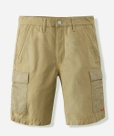 MIXED COTTON CARGO SHORTS BEIGE