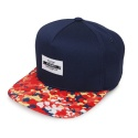 AZ FLOWER CAMO SNAPBACK - RED/NAVY