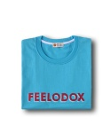 필로독스(FEELODOX) LOGO T SHIRT-SKY BLUE