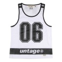 UNT 03 number mash sleeveless_white(남여공용)