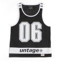 UNT 04 number mash sleeveless_black(남여공용)