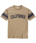 CALIFORNIA FOOTBALL T-SHIRT(BEIGE)